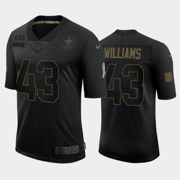 New Orleans Saints Marcus Williams Jersey
